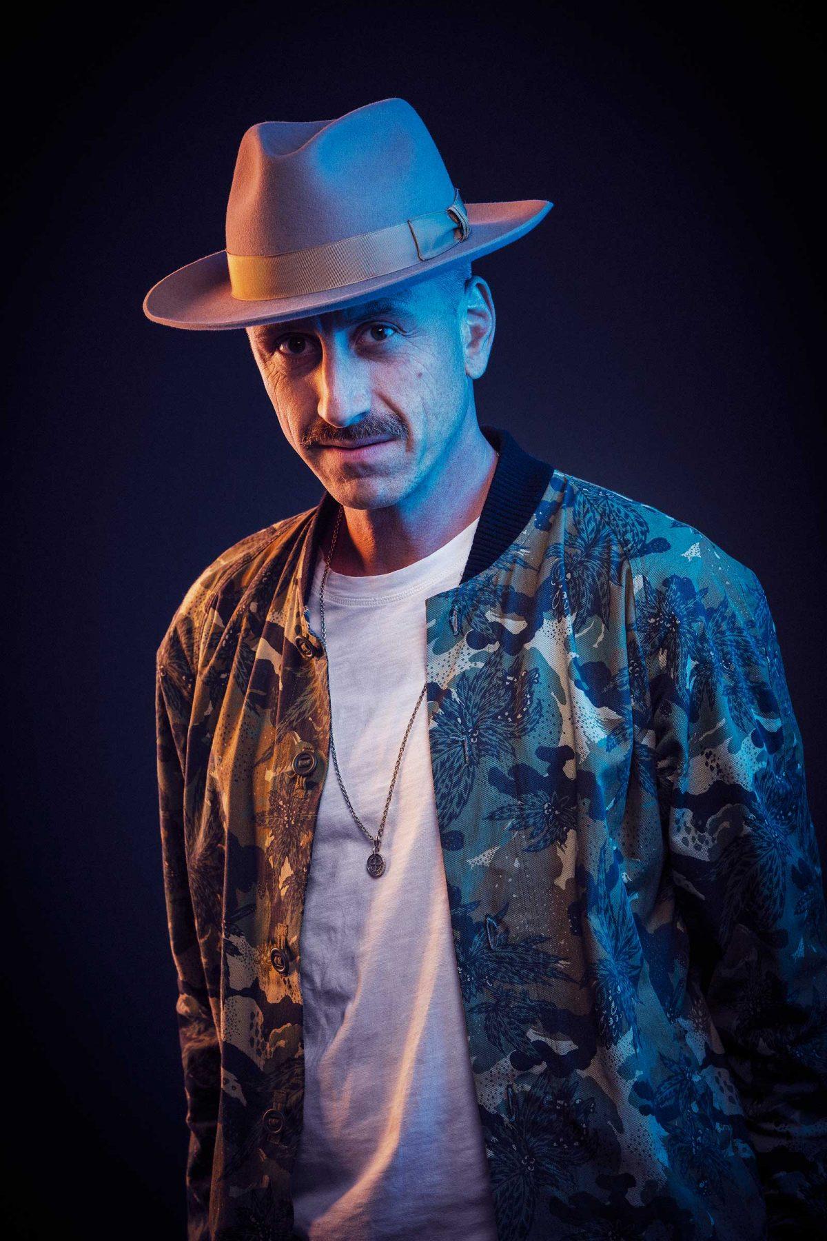 Portrait DJ Sepalot. Derek Henthorn - Fotograf München